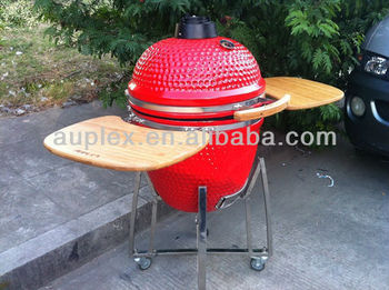 New type barbecue japanese charcoal 21 inch kamado bbq grill