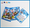 China supplier printed china whosale laminated bag with hang hole small plastic bags for toy part,food ,candy