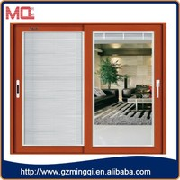 high quality aluminum lowes sliding screen door with handles