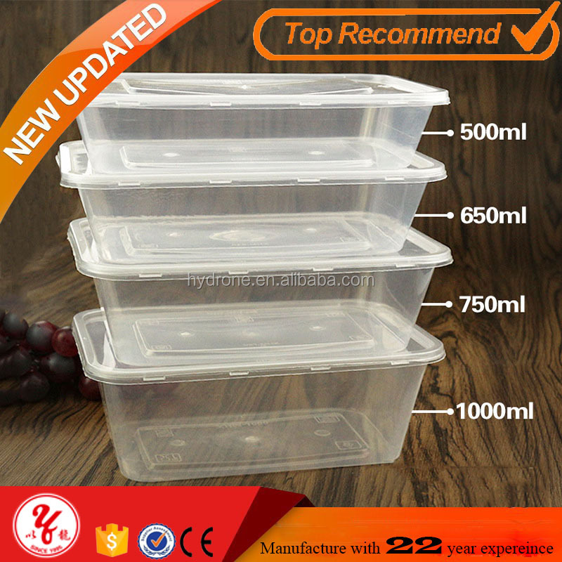 Why Choose us single compartment 500ml plastic food container with lids