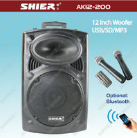 12 inch usb/sb bluetooth mp3 player subwoofer speaker box