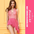 Wholesale Rose Mesh Lace Sexy Women Erotic Babydoll Lingerie