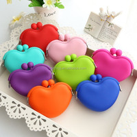 Colorful Silicone bag Novelty Silicone coin purse silicone coin bag change wallets bags for woman