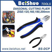 High Quality China Sheet Metal Hand Tool Diagonal Cutting Pliers with Side Cutter