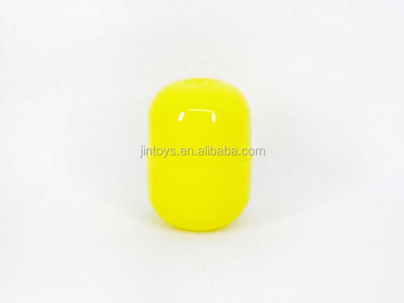 wholesale capsule toy , plastic toy capsule for vending machine ,surprise eggs