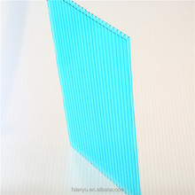 clear anti-scratch 16mm multiwall polycarbonate sheeting