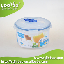 BPA Free Water Proof Round Plastic Container with Lid Shantou Factory