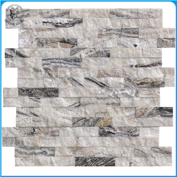 Z Shape Natural Marble Cultured Wall Cladding Stone Panels
