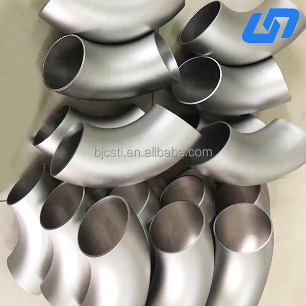 Made in baoji per price Gr1 titanium elbow