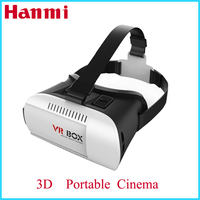 2016 best selling Smartphone Headset Virtual Reality VR box 3d video glasses smart