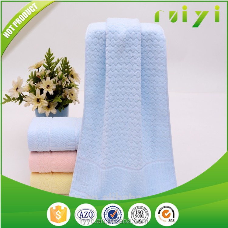 100 Cotton Solid Color Terry Face Towel, Bath Towel China Supplier With Great Price