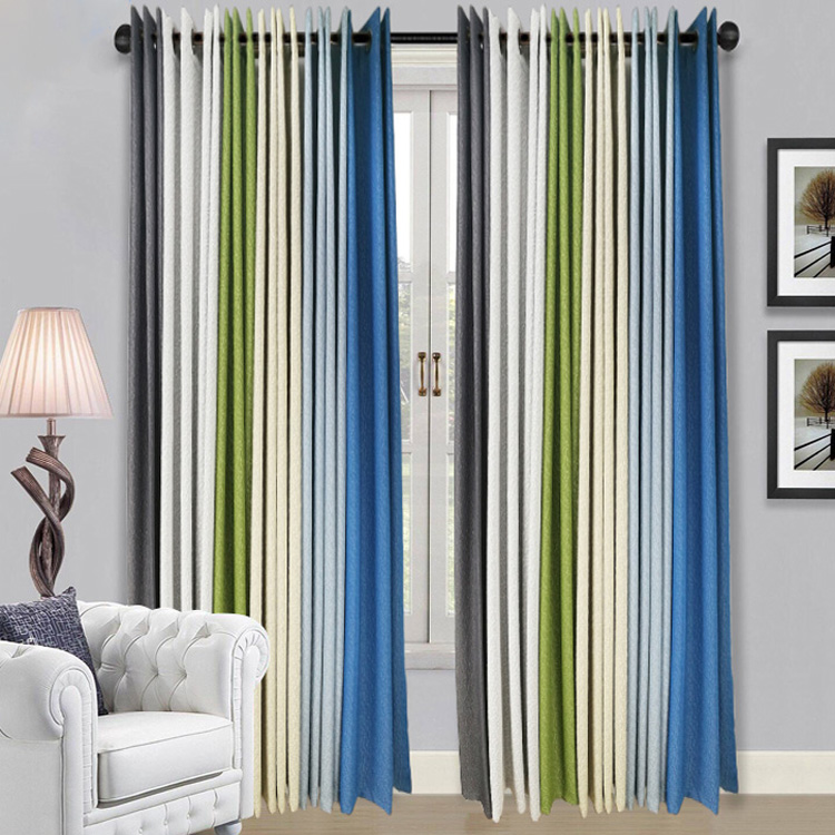 China Supplier Cheap Jacquard Window Curtains For Sale