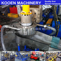 KOOEN PP PE Plastic Film Recycle and Granulating Line