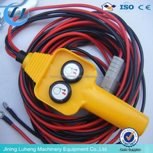 high quality portable universal winch / 12v wireless electric winch