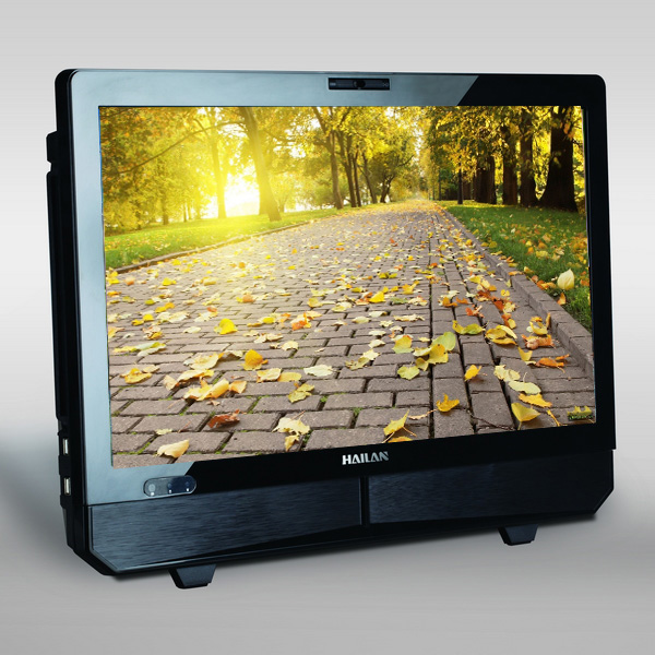 Hot sale 21 inch latest core i3/i5 cpu processor all in one pc with DVD driver