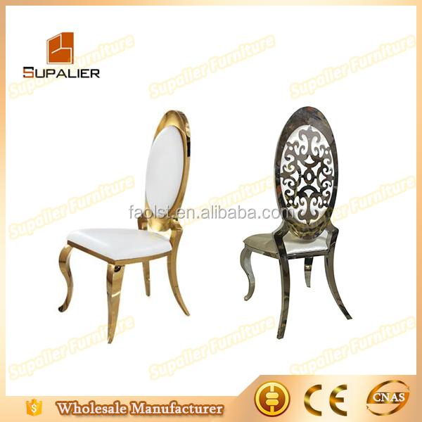 Promotion bas prix de mariage en acier inoxydable chaise for Chaise bas prix