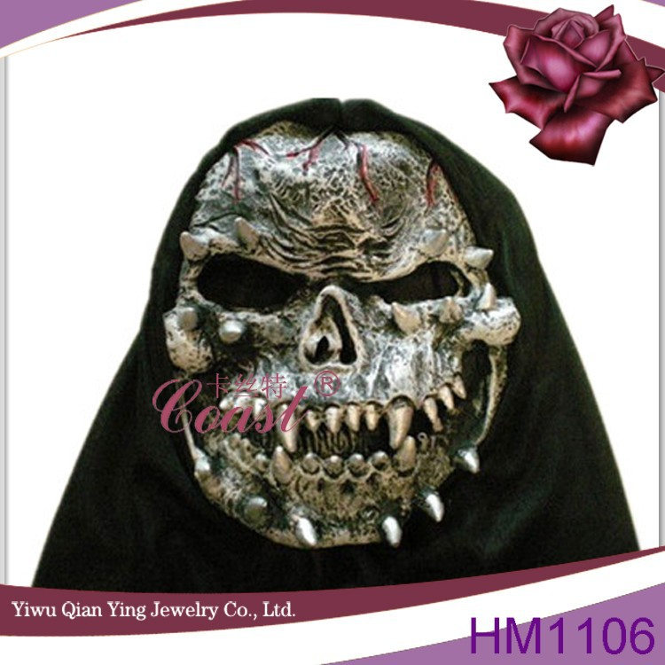 horrible Halloween Scary Demon latex mask