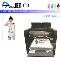 2016 Hot Selling A3 Size used T-Shirt Printing Machine Prices In India