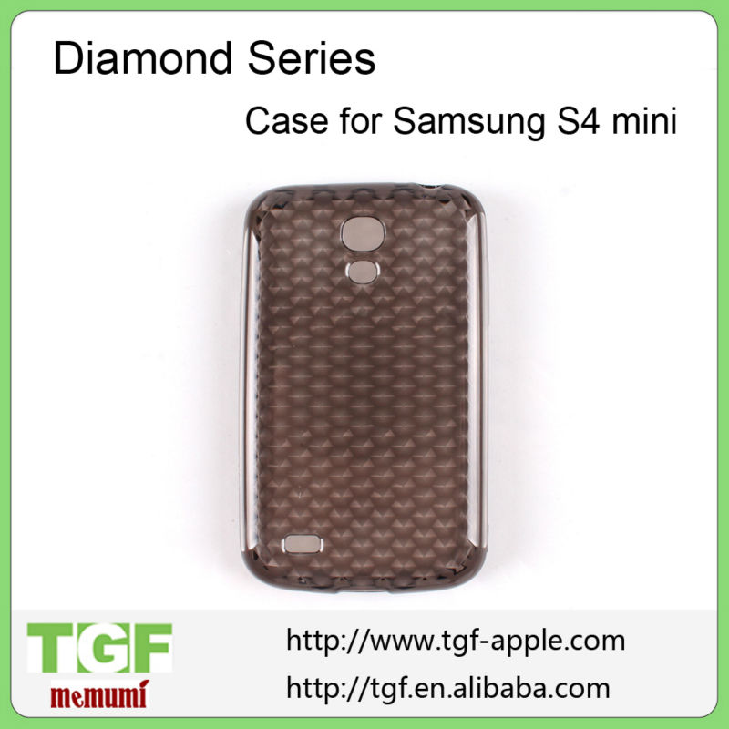 New Transparent Clear Soft Rubber silicon TPU Skin Case Cover For Samsung Galaxy S4 Mini i9190