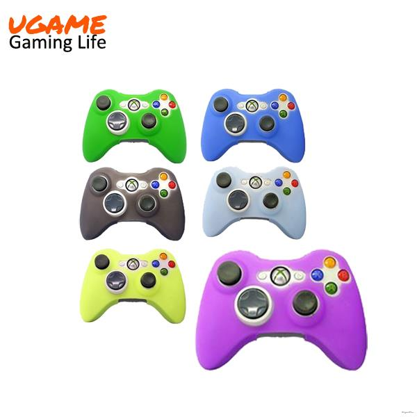Excellent quality top sell for xbox360 silicone case skin