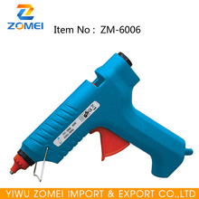 Most popular blue color CE hot melt cordless glue gun