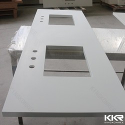 artificial stone bathroom countertop, quartz vanity top