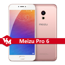 "Original Meizu Pro 6 Pro6 4GB RAM 32GB ROM Mobile Phone MTK Helio X25 Deca Core Android 5.2"" FHD IPS 21.0 MP Camera Cell Phone"