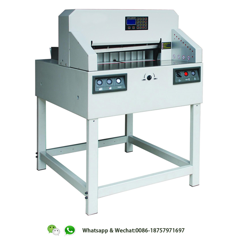 HL-QZ6508PX Program Controlled Paper Cutting Machine Design with CE standard and Programmed circuit