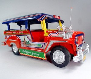 Die-Cast Metal Miniature Jeepney