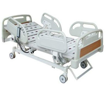Hot Electric five-function medical care bed /electric wall bed /five-function hospital bed with CE approved