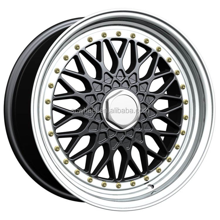 15 17 18 front rear emr alloy wheels with deep dish rims for car aftermarket