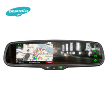 With hyundai sonata in dash car gps navigation system car gps navigation rearview mirror with backup camera