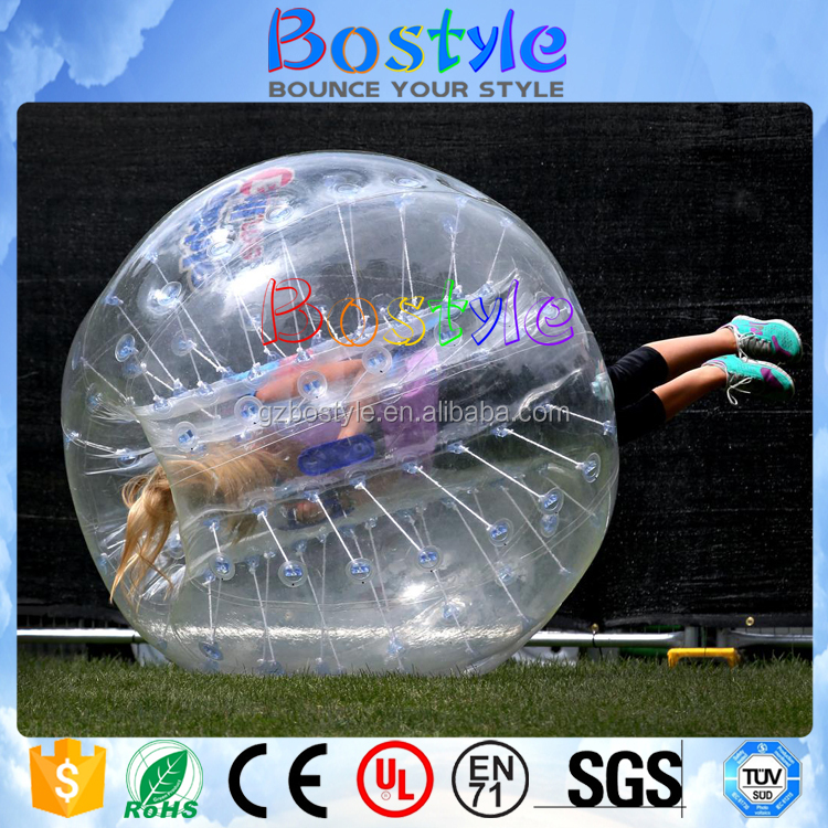Competitive price interesting inflatable bumper bubble buddy ball