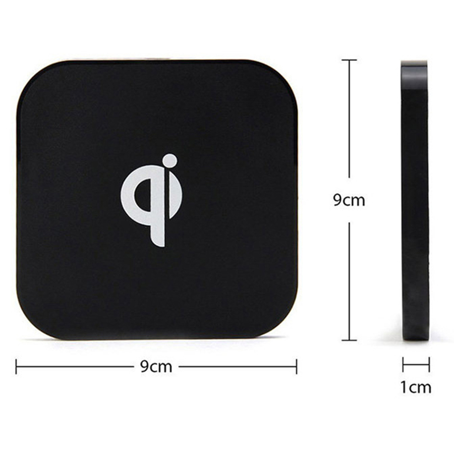 Square Shape Wireless Charger Fast Charging for iPhone x 5W 05