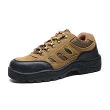2017 Wear-resistance Sports Shoes Hiking Boots Men Hiking Shoe Manufacturer