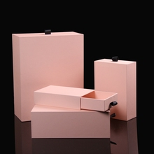 Factory oem cardboard branded jewelry box drawer making supplies