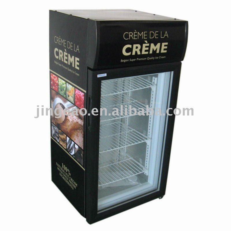 58L commercial ice cream freezer