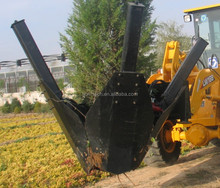 tree spade and tree transplanter