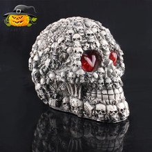 Cheap Wholesale Led Halloween skull decoration