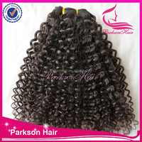 "New style hair extension type 18"",20"",22"" 3pieces/lot curly cheap human hair natural color malaysian hair"