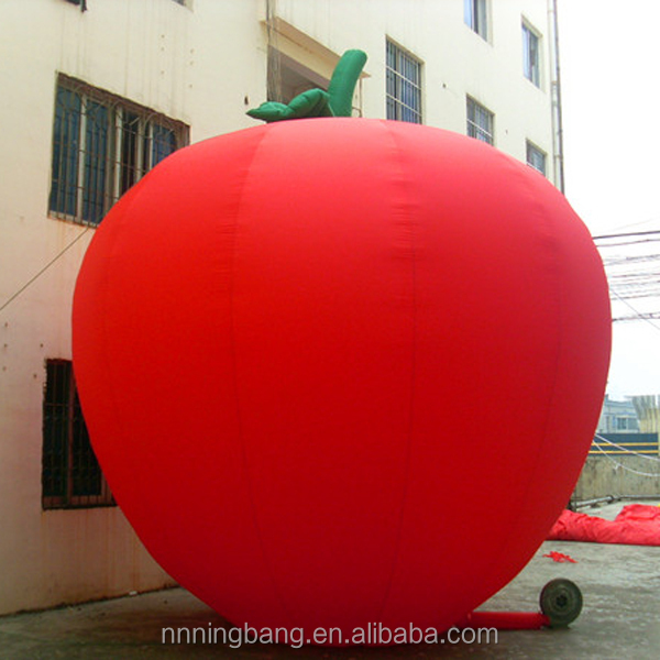 NB-AD3027 Giant New Design inflatable apple for outdoor decoration