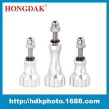 Factory Supply High Quality CNC Aluminum Stainless Thumb Knob Adjusting Screw leg Set for gopros tripod mount