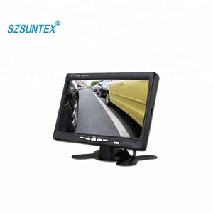 Shenzhen factory price 7 inch AHD Truck LCD Quad 24V Car Monitor