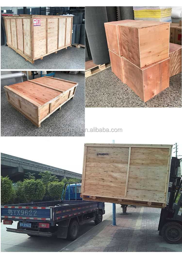 Ruizhou CNC Corrugated Cardboard Cutting Machine