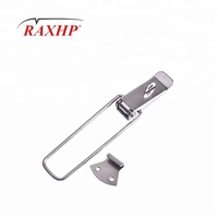 Good quality fashion style metal toolbox hasp Flat Draw toggle latch manufacturer