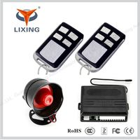 Lixing car anti theft system car alarm security devices for promotion