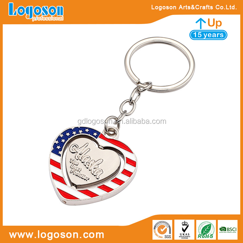 Custom Key Chain Free Design Your Own Country Flag Keychain Souvenir Key Chain Wholesale