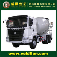 Sale 6-8 cubic used concrete mixer truck with pump
