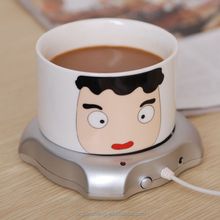 2014 new gadget office mini electric usb coffee cup warmer