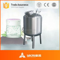 Pigment Blending container,Stainless Steel Paint Mixing Tank ,vacuum mixer homogenizer reaction vessel